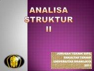 introduksi – metode matriks - Universitas Brawijaya