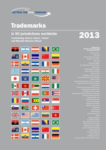 Vietnam Trademarks 2013 - Getting the Deal Through - Aliat Legal