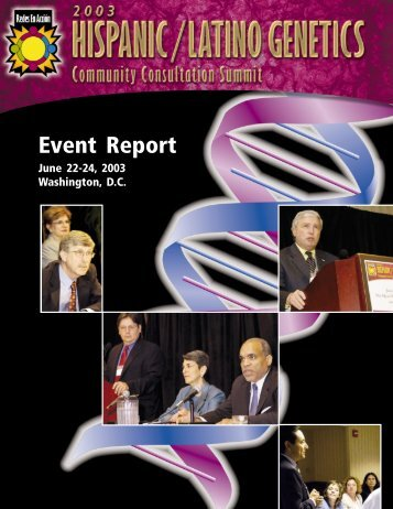 Hispanic/Latino Genetics Community ... - Redes En Acción
