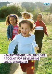 Healthy Weight Healthy Lives Toolkit