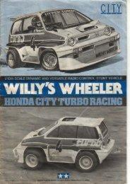 Tamiya Willys Wheeler Manual - Wheelsacademy.info