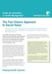 Social Value Handbook summary final WEB - Centre for Innovation ...
