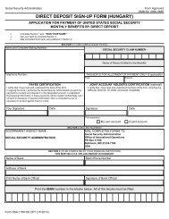 View PDF Version - Social Security