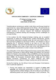 Joint declaration of 6th College-to-College meeting, 26 April 2013