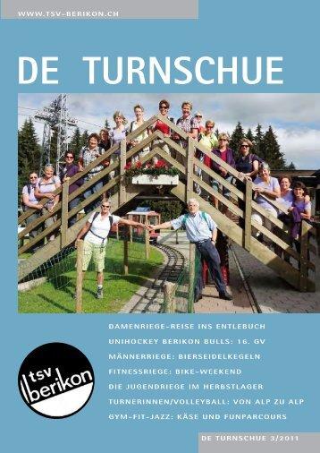 DE TURNSCHUE 3/2011 WWW.TSV-BERIKON.CH DAMENRIEGE ...