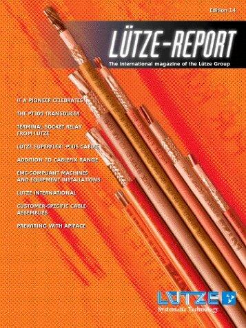 Lütze-Report 14 - Luetze.com