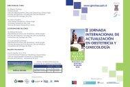 ii jornada internacional de actualización en obstetricia y ginecología