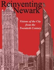 Reinventing Newark - National Center for Public Performance (NCPP)
