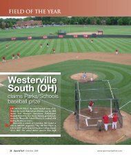 Westerville South (OH) - About SportsTurf