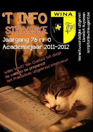 Strakske - WiNA - Universiteit Gent