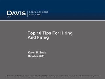 Download PDF - 106 kb - Davis LLP