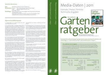 Gartenratgeber  2 free Magazines from GARTENRATGEBER.DE