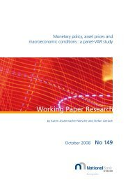 Monetary policy, asset prices and macroeconomic conditions