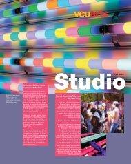 Studio 063.Production - VCUarts - Virginia Commonwealth University