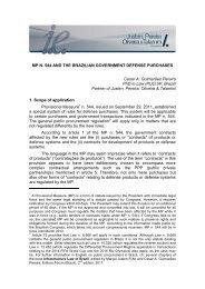 Lei 11 - Justen, Pereira, Oliveira & Talamini - Advogados