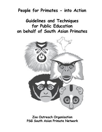 People for Primates - South Asian Primate Network