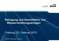 Reinigung und Desinfektion von WV-Anlagen (PDF, 1.99 MB)