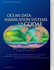 OcEAN DAtA ASSimilAtiON SyStEmS - CSIRO Marine and ...