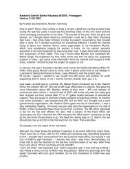 Kasturba Gandhi Balika Vidyalaya (KGBV) - Asha for Education