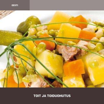 Toit ja toiduohutus (EST) - Põllumajandusministeerium