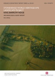 King Barrow Ridge - English Heritage