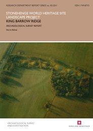 King Barrow Ridge - English Heritage