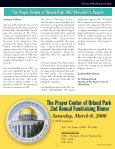 The Prayer Center of Orland Park Monthly Newsletter - Page 3