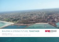 building a strong Future, together - OneSteel