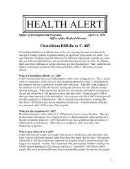 Clostridium Difficile or C. diff - Achieva