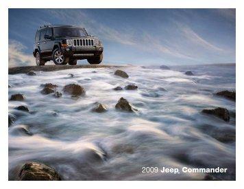 2009 Jeep® Commander - US cars technologie