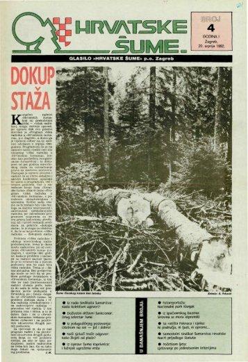 HRVATSKE ŠUME 4 (20.7.1992)