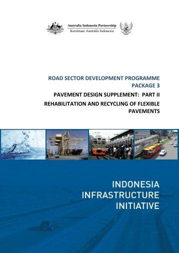 PAVEMENT DESIGN SUPPLEMENT PART II ... - IndII