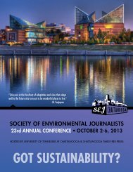 Download the conference brochure - Society of Environmental ...