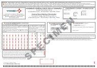 le formulaire de vote par correspondance et de vote par ... - Vinci