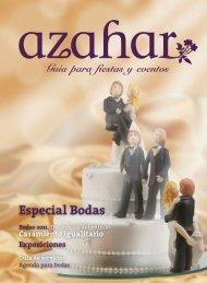 Especial Bodas - Revista Azahar