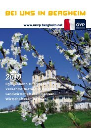 März 2010 - ÖVP Salzburg