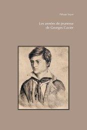 Les années de jeunesse de Georges Cuvier - Société d'Émulation ...