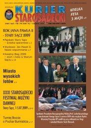 nr 190 czerwiec 2009 - Kurier Starosądecki