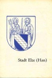 Faltblatt Tourismus Stadt Elze.pdf - Heimat- und Geschichtsverein Elze