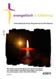 evangelisch in Ottakring - in der Markuskirche!