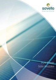Pure Power Solar Modules - SAT Solar