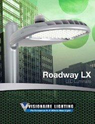 Fixture Overview - Roadway LX - Visionaire Lighting, LLC