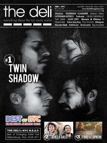 twin shadow - The Deli