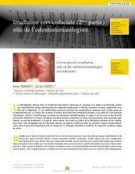 role of the odontostomatologist. (second part) - SOP