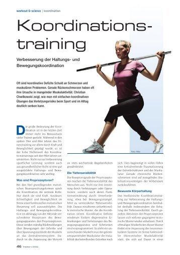 Koordinations- training