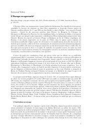 L'Europe en spectacle (PDF) - ReprésentationS - Free