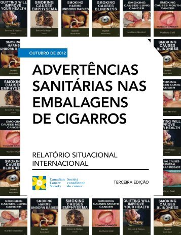 Relatório Status International - Campaign for Tobacco-Free Kids