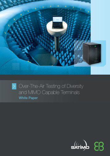 Over-The-Air Testing of Diversity and MIMO Capable Terminals