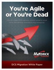 You're Agile or You're Dead - MAVERICK Technologies