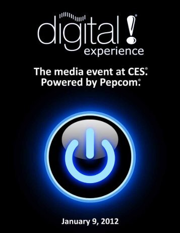 Digital Experience - Pepcom